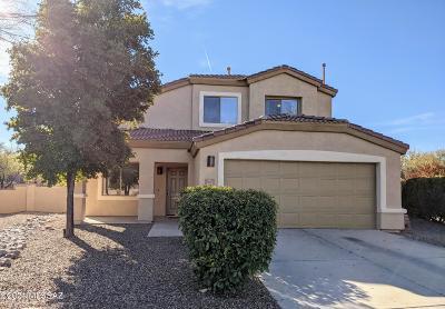 Sahuarita Single Family Home Active Contingent: 466 E Camino Rancho Redondo