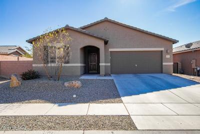 Tucson Single Family Home Active Contingent: 3557 W Briar Rose Lane