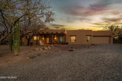 Tucson Single Family Home Active Contingent: 12530 E Sonoran Ridge Drive