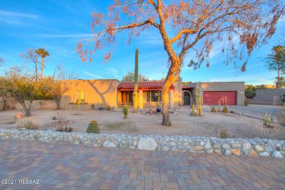 Tucson Single Family Home Active Contingent: 4732 N Paseo Sonoyta