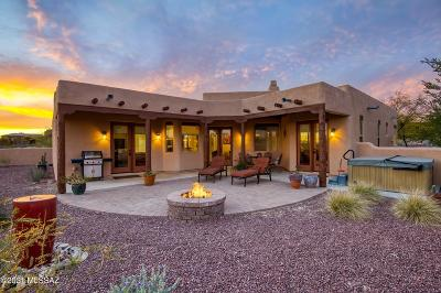Oro Valley Single Family Home Active Contingent: 2425 W Oasis Road