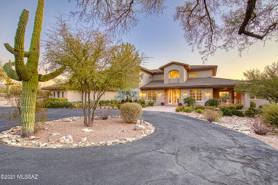 Tucson Single Family Home Active Contingent: 5275 N Calle Estrella