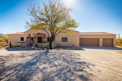 Tucson Single Family Home For Sale: 11200 E Camino Del Sahuaro
