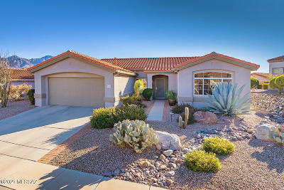 Oro Valley Single Family Home Active Contingent: 2130 E Buster Mountain Drive