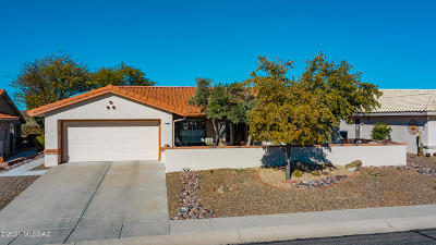 Oro Valley Single Family Home Active Contingent: 1265 E Crown Ridge Drive
