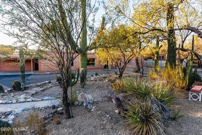 Tucson Single Family Home Active Contingent: 4441 N Bear Canyon Road