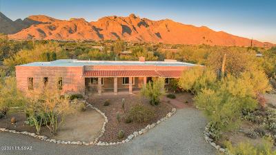 Tucson Single Family Home Active Contingent: 2121 E Camino La Zorrela Place
