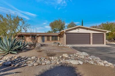 Tucson Single Family Home Active Contingent: 6721 N Quartzite Canyon Place