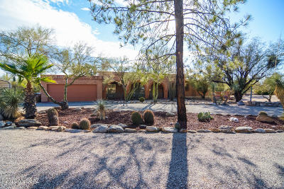 Tucson Single Family Home Active Contingent: 6930 N Stardust Circle