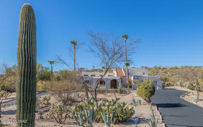 Tucson Single Family Home For Sale: 5245 N Post Trail