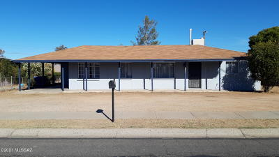 Tucson Single Family Home Active Contingent: 6201 E 29th Street