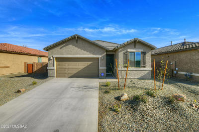 Marana Single Family Home Active Contingent: 12322 N Larisa Drive