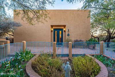 Tucson Single Family Home Active Contingent: 12460 E Mesquite Trail
