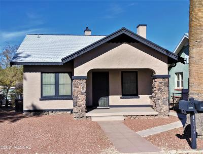 Tucson Single Family Home Active Contingent: 1117 E Lee Street