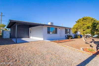 Tucson Single Family Home Active Contingent: 6768 E Lurlene Drive