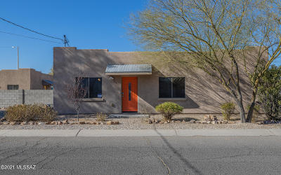 Tucson Single Family Home Active Contingent: 3460 E Bermuda Street