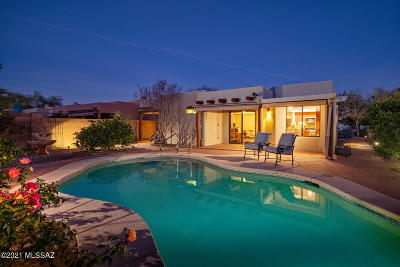 Tucson Single Family Home Active Contingent: 9129 N Jessy Lane