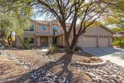 Oro Valley Single Family Home Active Contingent: 10982 N Black Canyon Court