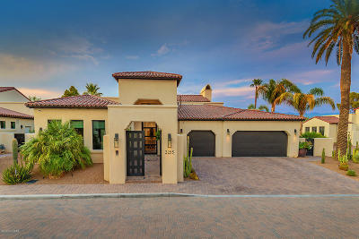 Tucson Single Family Home Active Contingent: 2255 E Ambassador Court