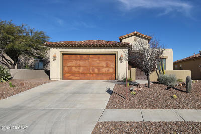 Marana Single Family Home For Sale: 4478 W Crystal Ranch Place