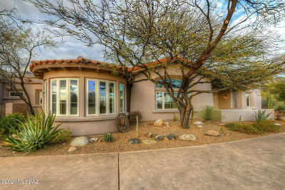 Tucson Single Family Home For Sale: 7455 N Mystic Canyon Drive