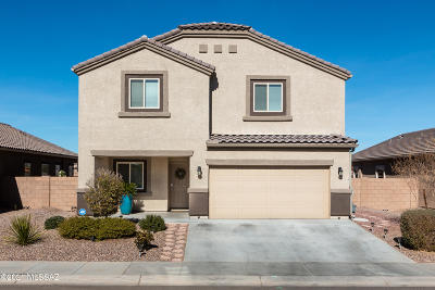 Marana Single Family Home For Sale: 9136 Blue Saguaro Street