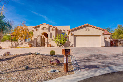 Oro Valley Single Family Home Active Contingent: 985 W Silver Spring Place