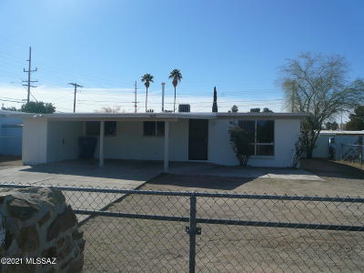 Tucson Single Family Home Active Contingent: 4678 E 25th Street