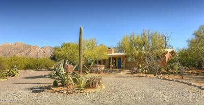 Tucson Single Family Home Active Contingent: 6550 N Calle Lottie