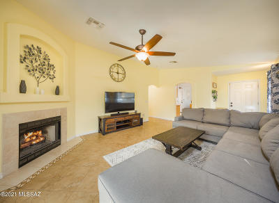 Tucson Single Family Home Active Contingent: 10134 E Placita Del Timbre