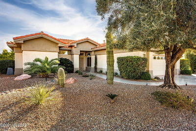 Oro Valley Single Family Home Active Contingent: 1540 E Crown Ridge Way
