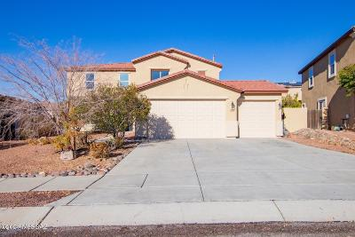 Tucson Single Family Home Active Contingent: 3523 E Fox Trotter Road