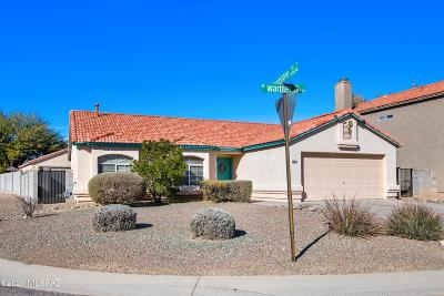 Tucson Single Family Home Active Contingent: 5180 W Warbler Street