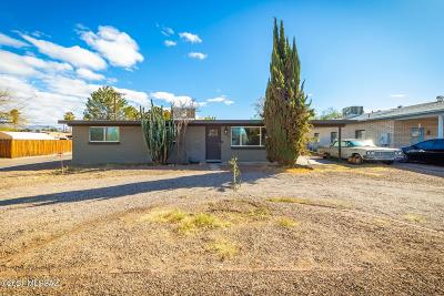 Tucson Single Family Home Active Contingent: 1630 N McKinley Avenue