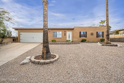 Tucson Single Family Home Active Contingent: 7533 N Shirley Lane
