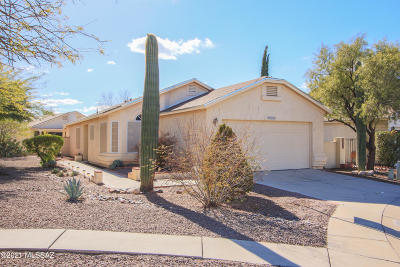 Tucson Single Family Home For Sale: 3389 W Tranquility Court