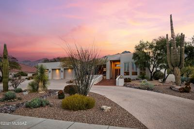 Tucson Single Family Home Active Contingent: 7311 E Desert Moon Loop