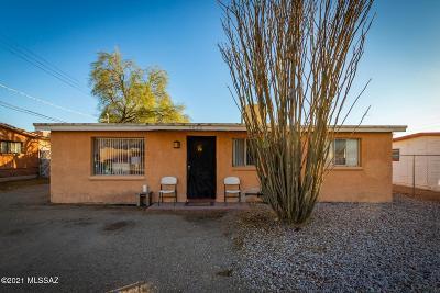Tucson Single Family Home For Sale: 3620 E Glenn Street