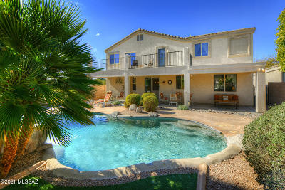 Oro Valley Single Family Home For Sale: 459 W Klinger Canyon Drive
