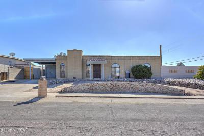 Tucson Single Family Home For Sale: 9502 E Myra Drive