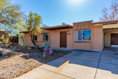 Tucson Townhouse For Sale: 3645 S Hamilton Place