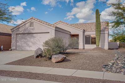 Tucson Single Family Home Active Contingent: 9755 Via De Sisneroz