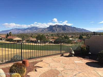 Tucson Single Family Home Active Contingent: 8696 N Bobby Jones Drive