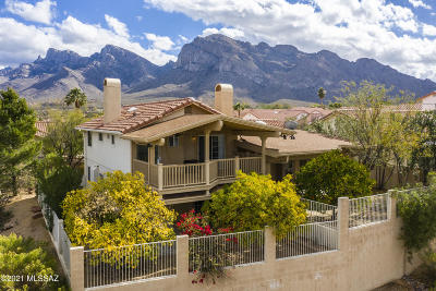 Tucson Single Family Home For Sale: 10001 N Hillview Drive