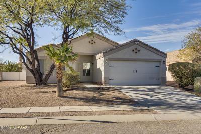 Tucson Single Family Home Active Contingent: 8344 S Via De Ellsworth