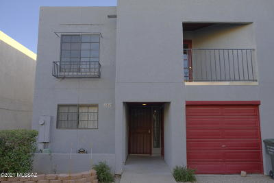 Tucson Townhouse For Sale: 1515 N Bryant Avenue