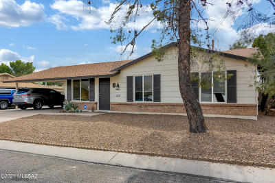Tucson Single Family Home Active Contingent: 2651 W Vereda Azul