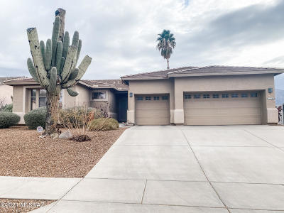 Oro Valley Single Family Home Active Contingent: 11246 Mountain Breeze Drive