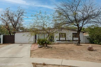 Tucson Single Family Home Active Contingent: 3632 S Frick Avenue