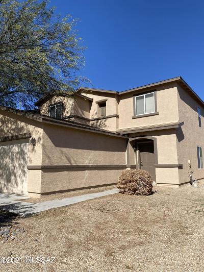 Sahuarita Single Family Home Active Contingent: 1114 W Camino Hombre Viejo